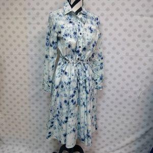 Donna Karan Sample Shirt Dress NWT I GORGEOUS